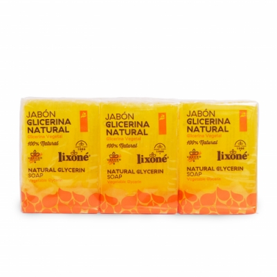 Lixone Lixone Jabón Pastilla Glicerina Natural