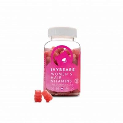 Ivy Bears Hair Vitamins For Women - Vitaminas Para El Cabello 60 Un
