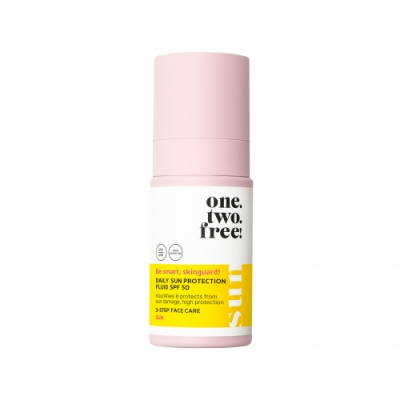 one.two.free! Daily Sun Protection Fluid SPF50
