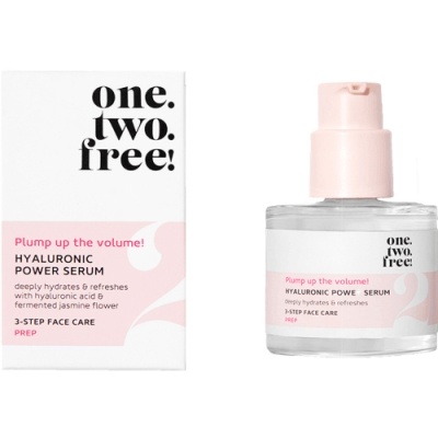 one.two.free! Hyaluronic Power Serum