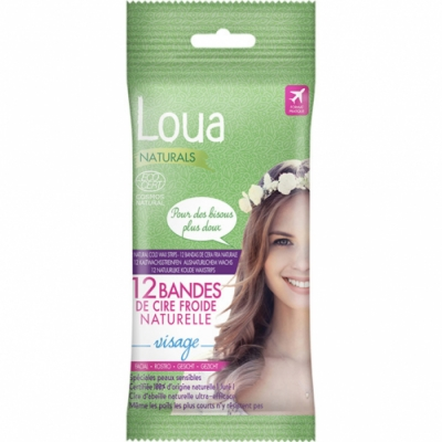 Loua Loua Bio Bandas Depilatorias zona Facial