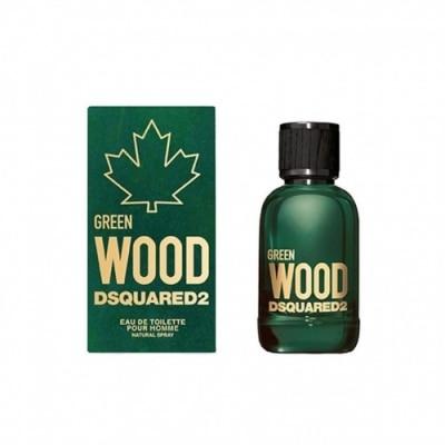 Dsquared Green Wood Pour Homme Eau De Toilette Edt 50 Ml