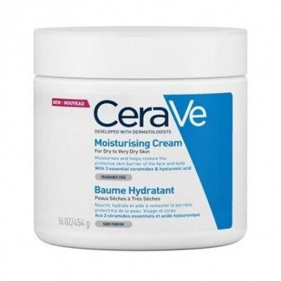 Cerave Crema Hidratante Para rostro y cuerpo Textura fluida y no grasa