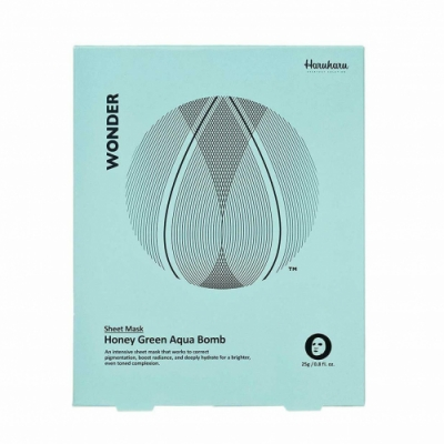 Haru Haru Haru Haru Honey Green Aqua Bomb Mask 25 Gr