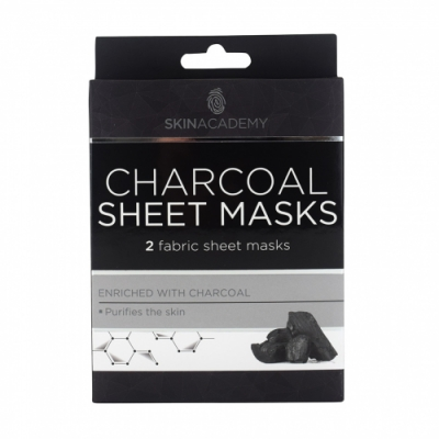 Quret Quert Sheet Mask Charcoal 25 Gr