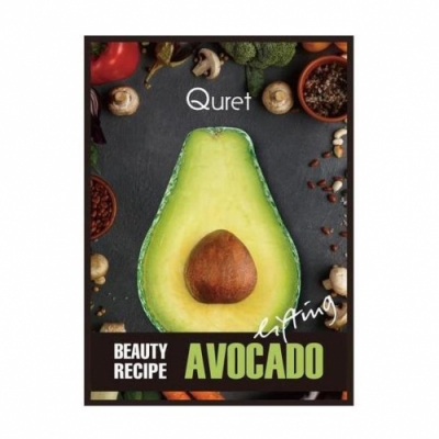 Quret Quret Lifting Beauty Recipe Mask Avocado 25 Gr