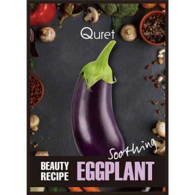 Quret Quret Beauty Recipe Mask Eggplant  25 Gr