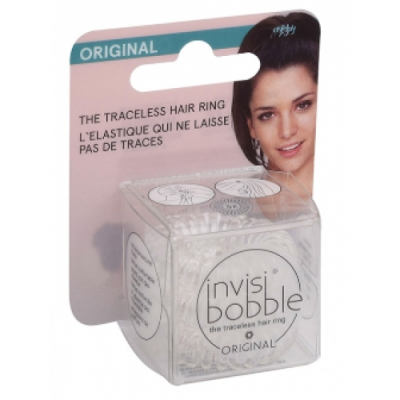 Invisibobble Pack Invisibobble Hanging Crystal Clear