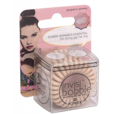 Invisibobble Invisibobble Power Hanging Pack To Be Or Nude