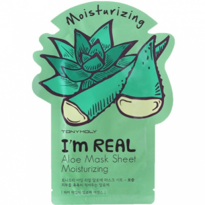 Tonymoly Tony Moly Mascarilla I Am Real Aloe Sheet