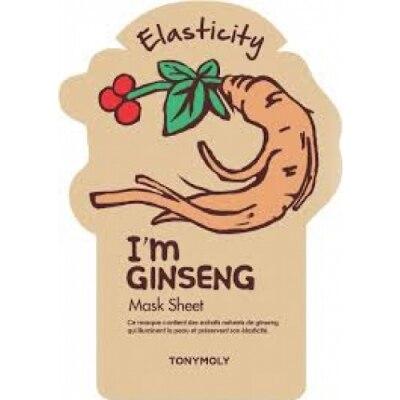Tonymoly Tony Moly Mascarilla I Am Real Ginseng Sheet