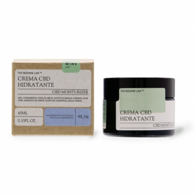 The Beemine Lab Crema Facial Miel y CBD