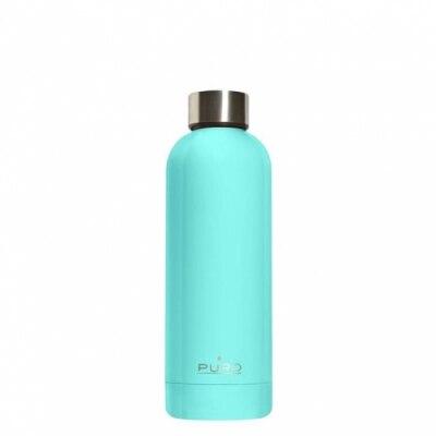 Puro Puro Botella de Acero Inoxidable Hotcold Azul Cielo