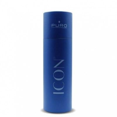 Puro Puro Icon Botella de Acero Inoxidable Azul Oscuro