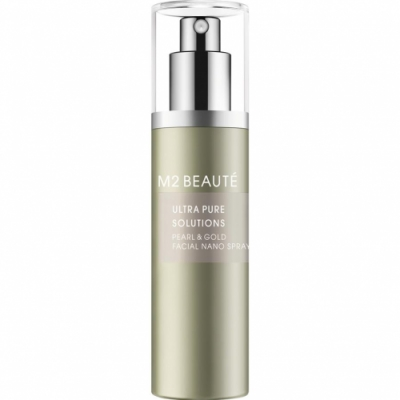 M2 Beaute M2 Beauté Ultra Pure Solutions Pearl Gold Facial Nano Spray