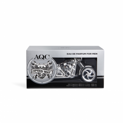 Aquarius AQC Fragances Duplo Eau de Toilette Top Speed Silver