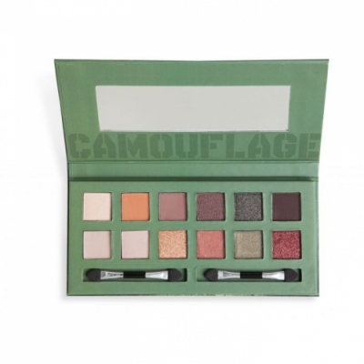 Magic Studio Magic Studio Camouflage Eyeshadow - Paleta 12 sombras