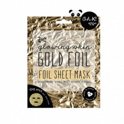 OH K! Oh K Gold Foil Sheet Mask