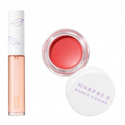 Morphe Morphe X Maddie Ziegler Peach That Pops Lip & Cheek Dúo