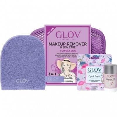 Glov Glov Hydro Cleanser Travel Set Purple