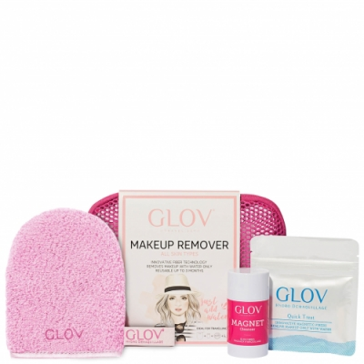 Glov Glov Hydrok Cleanser Travel Set Pink