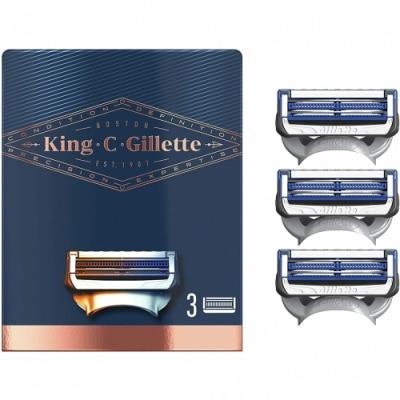 King C. Gillette Gillette King C Recambio Afeitar Cuello