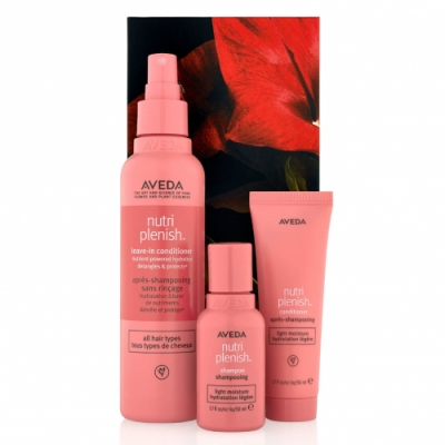 Aveda Aveda Pack Nutriplenish Light Moisture Hair Trio