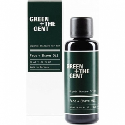 Green + The Gent Green + The Gent Face más Shave Oil