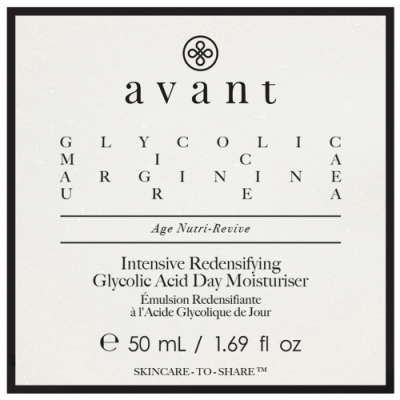 Avant SkinCare Avant Skincare Hidratante Día con Ácido Glicólico Redensificante