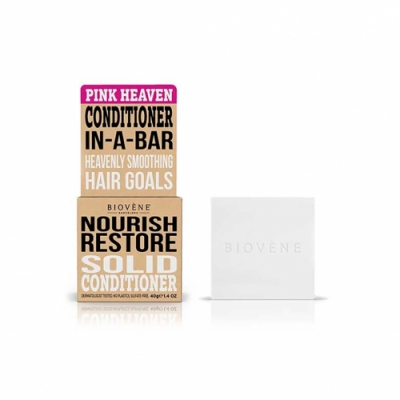 Biovene Biovene Acondicionador Sólido Nourish Restore Pink Heaven