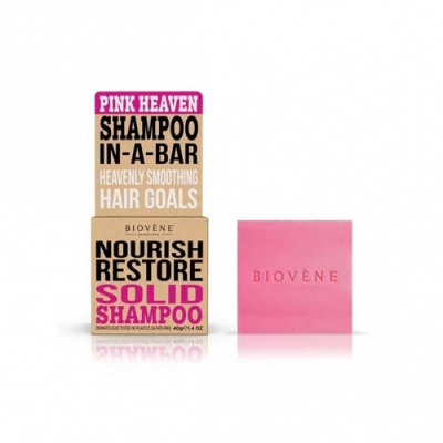 Biovene Biovene Champú Sólido Nourish Restore Pink Heaven