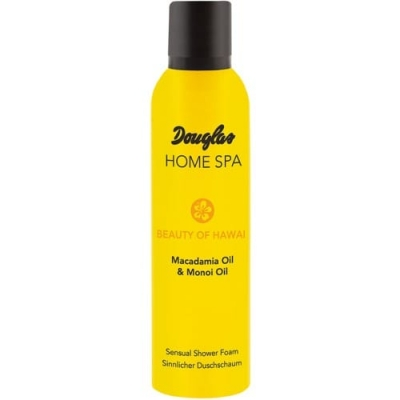 Douglas Home Spa Sensual Shower Foam Macadamia Oil Monoi Oil