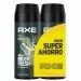 Axe Axe Pack Duplo Ahorro Desodorante Gold