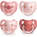 Suavinex Chupete evolution anatómico rosa + 6 meses