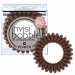 Invisibobble Invisibobble Power Strong Hold Hair Ties Pretzel Brown