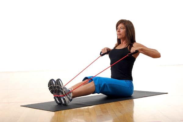 ejercicios goma elástica