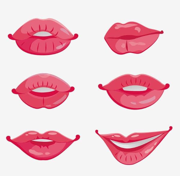 tipos de labios