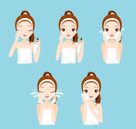 cómo realizar la limpieza facial