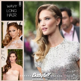 wavy long hair en Bodybell