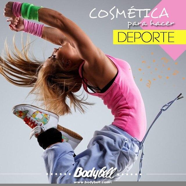 cosmética para hacer deporte en Bodybell