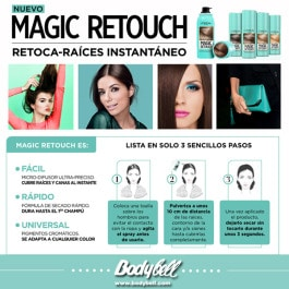 Magic retouch raices canas tinte