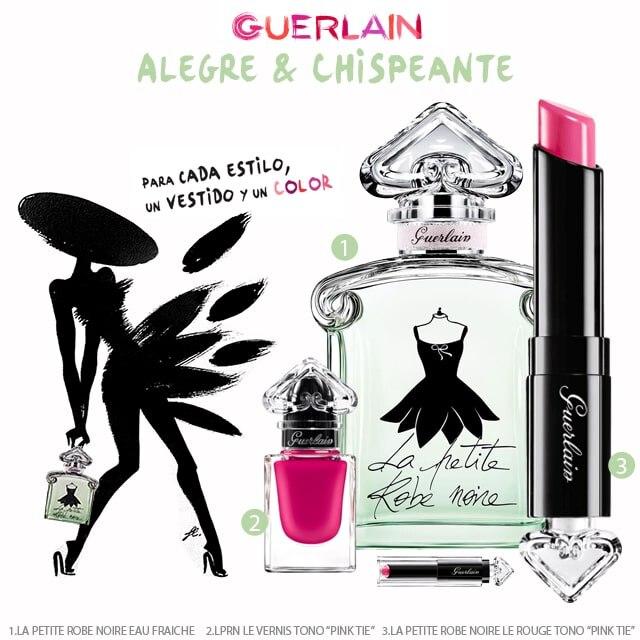 Guerlain La Petite Robe Noire Alegre y chispeante