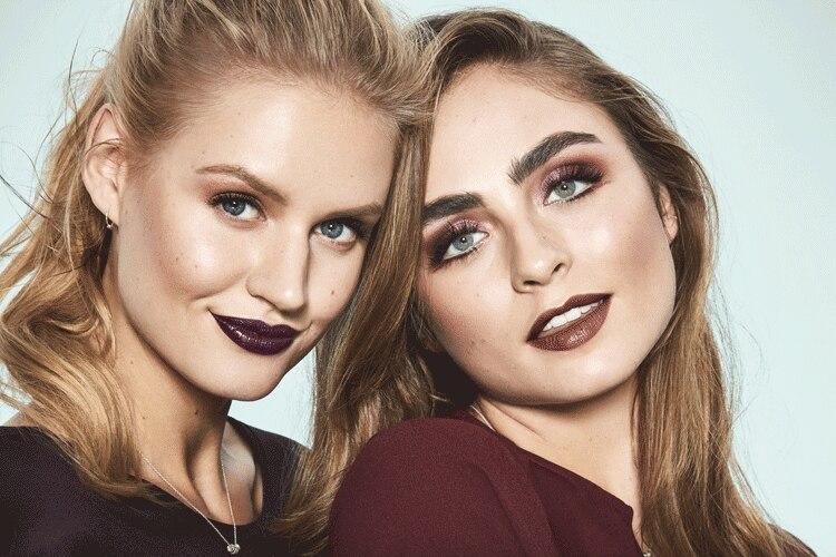 Tendencias make-up: cómo dar color al invierno: ¡con 50 tonos burgundy!