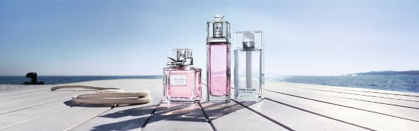 Fragancias frescas de Dior