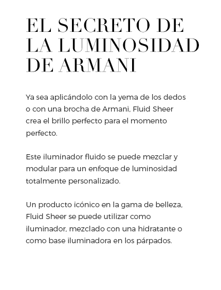 Armani Beauty Maquillaje
