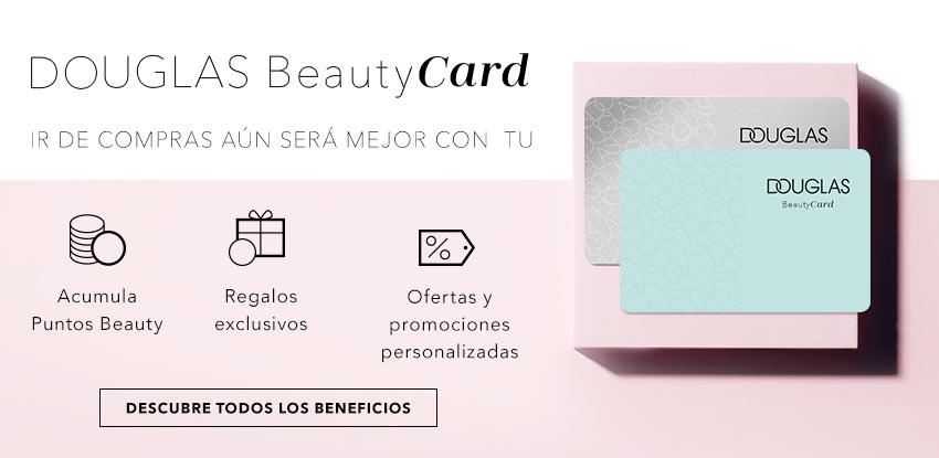 Descubre el mundo Douglas Beauty Card