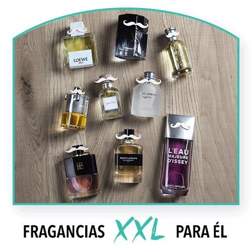Perfumes XXL para él