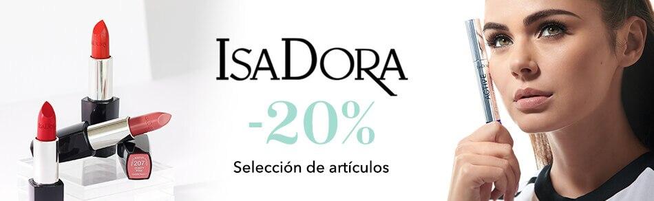 -20% en Isadora
