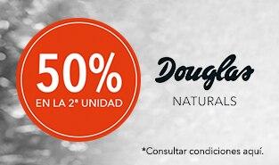 2ª unidad al 50% en Douglas Naturals