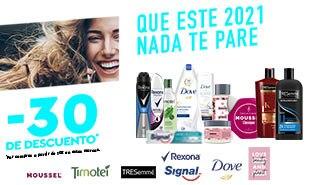 Promoción selección de productos Unilever